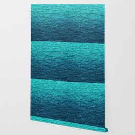 Tropical Water Pattern, Turquoise Ocean Water Wallpaper