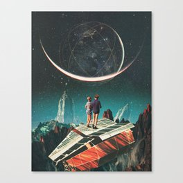 It will be a whole New World Canvas Print