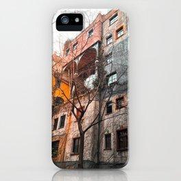 Hundertwasser 4 iPhone Case