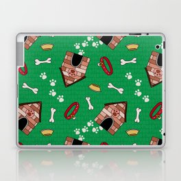 Dog Paradise in Green Laptop & iPad Skin