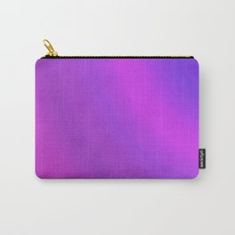 Purple & Blue Arcs | Bright gradient pattern Carry-All Pouch