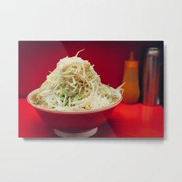 Ramen Jiro Metal Print