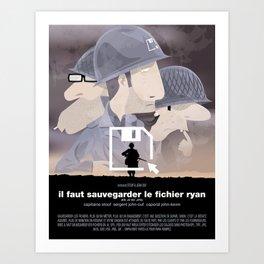 Il faut sauvegarder le fichier Ryan Art Print