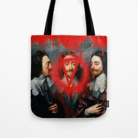 vendetta Tote Bags featuring VENDETTA by DIVIDUS