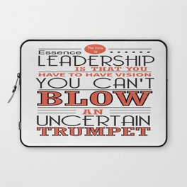 You Have To Have Vision Leadership Inspirational Success Quote Design Laptop Sleeve