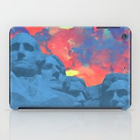 rushmore iPad Cases featuring Mt Rushmore by Calepotts