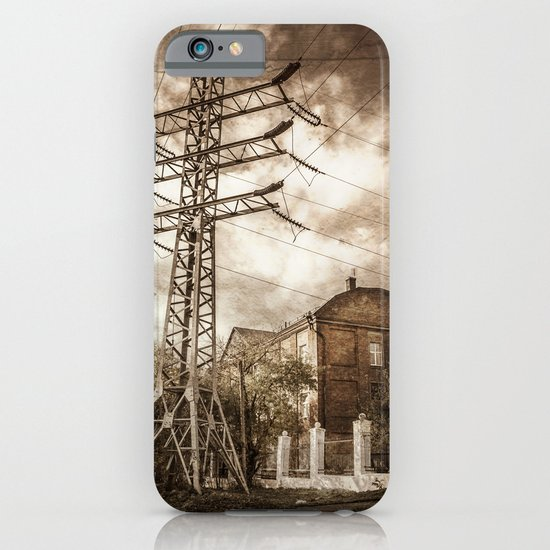 Old Powerstation iPhone & iPod Case