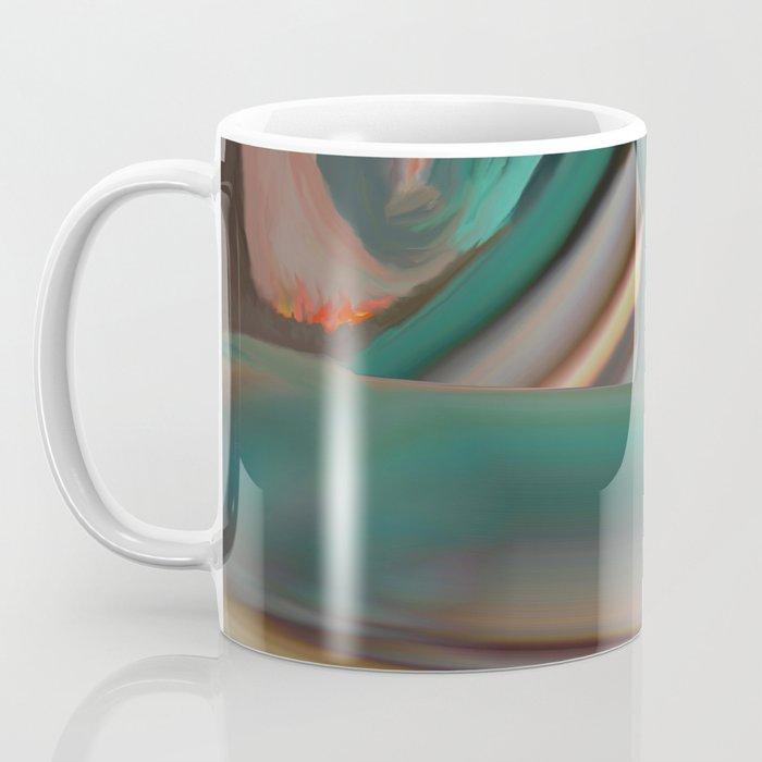 Running From Death Coffee Mug