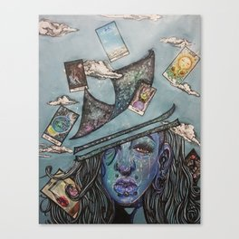 Not playing with a Full Deck Canvas Print
