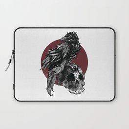 Crow crown Laptop Sleeve