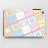 gameboy iPad Cases featuring Pastel Gameboy Dreams by anthonykun