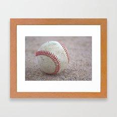 Baseball Framed Art Print