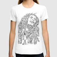 marley T-shirts featuring Marley by Ron Goswami