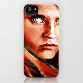 McCurry's Afghan Girl iPhone Case