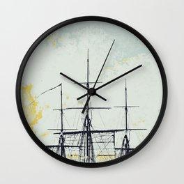 All Masts Up Wall Clock