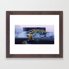 Bomber Launch Framed Art Print