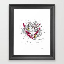 Anatomy Party Framed Art Print