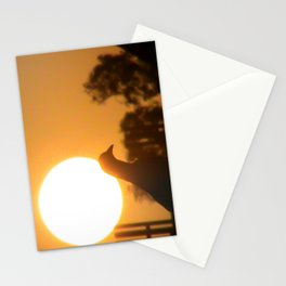 Pigeon Eclipse Stationery Cards