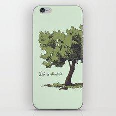 Life is Beautiful Olive Tree iPhone & iPod Skin