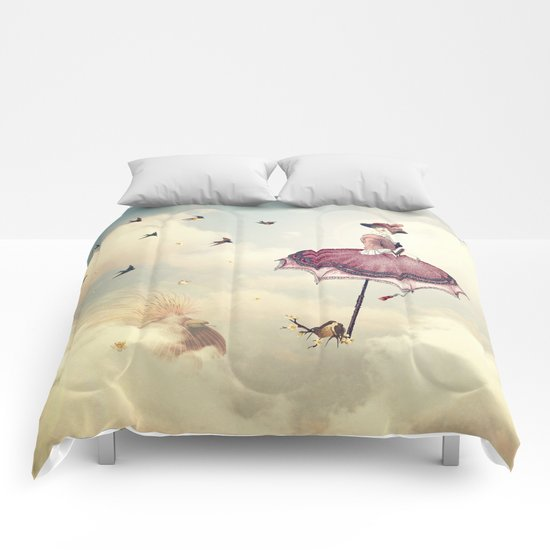 Spring Lady Comforters