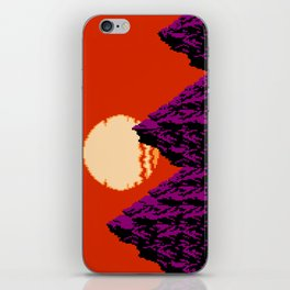 DEEP SUNSET iPhone Skin