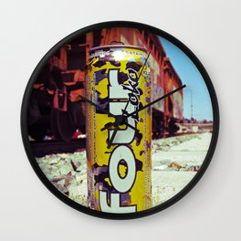 Thirst quencher Wall Clock