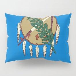 flag of oklahoma-Oklahoma,south,Oklahoman,Okie, usa,america,Tulsa,Norman,Broken Arrow Pillow Sham