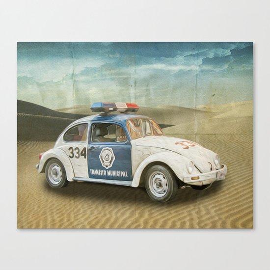 Dune Buggy Fuzz Canvas Print