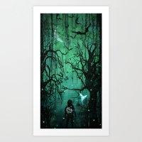 It's Dangerous to Go Alone Art Print