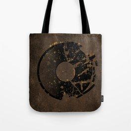 Broken Vinyl Dont Play Tote Bag