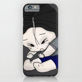 Kuro Sleepy Chibi Anime Japanese Gift iPhone Case