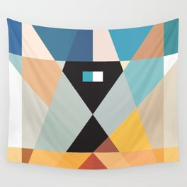Deconstruct Ned Kelly Wall Tapestry
