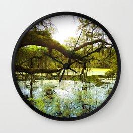 Mossy Wall Clock