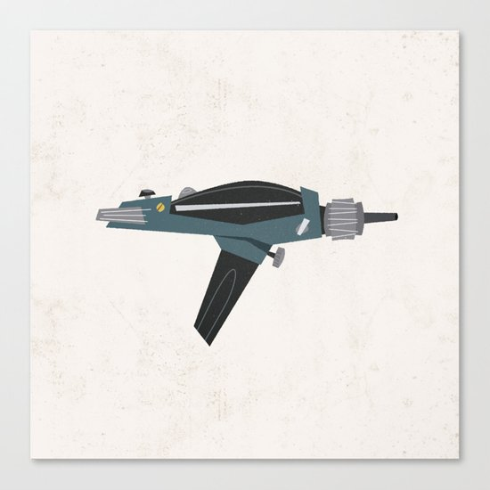 Star Trek Phaser Canvas Print