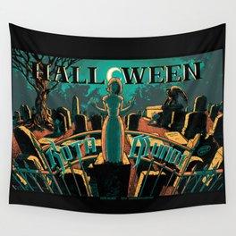 KOTA MUNDI Halloween Poster Wall Tapestry
