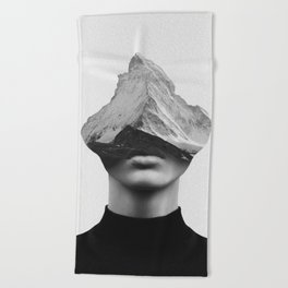 INNER STRENGTH Beach Towel