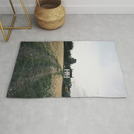 farm in the countryside Rug