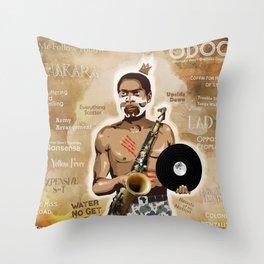 Fela Throw Pillow
