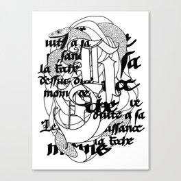 The Serpent Canvas Print