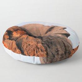 George Washington (Mount Rushmore) Floor Pillow