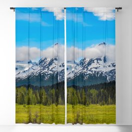 Bear_Creek Mountain Glacier II - Alaska Blackout Curtain