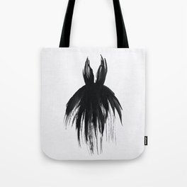 Little Black Gown Tote Bag