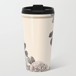 Flowers on a winter day Travel Mug