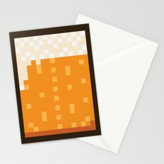 Pixel Beer Stationery Cards