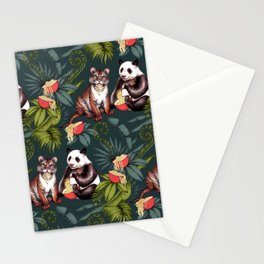 Exotic Noodle Jungle  Stationery Cards