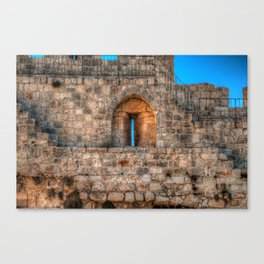 The Old City Canvas Print