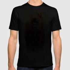 Mads Mikkelsen * Hannibal Lecter Mens Fitted Tee 2X-LARGE Black
