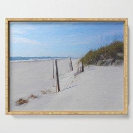 Van Gogh's Beach Serving Tray