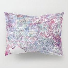 Montevideo Map Pillow Sham