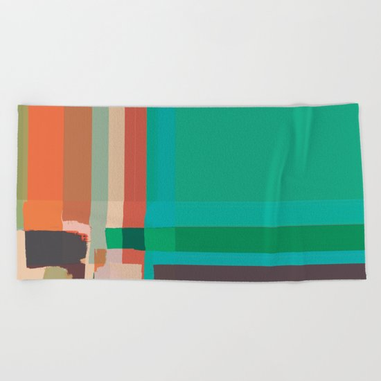 Abstract Painting No. 12 Beach Towel